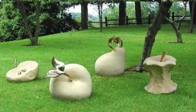 Enanos del jardin fuera nunca en chandal for Arbustos enanos para jardin